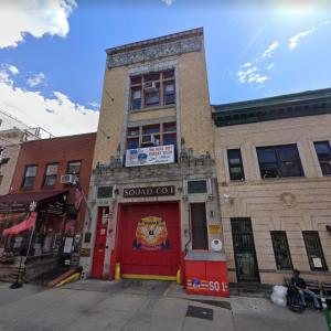 New York City Fire Department Squad Company 1 (StreetView)