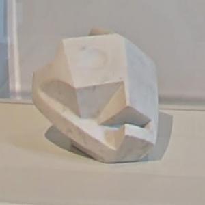 'Head-Skull (Tête-crâne)' by Alberto Giacometti (StreetView)