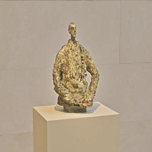'Diego in a Sweater' by Alberto Giacometti (StreetView)