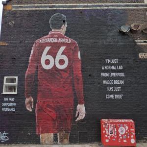 Trent Alexander-Arnold mural (StreetView)