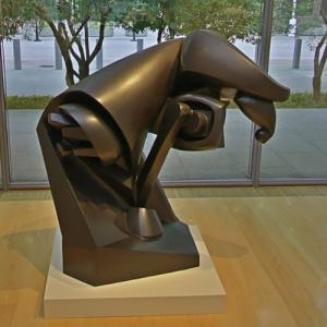 'Large Horse' by Raymond Duchamp-Villon (StreetView)