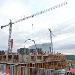 Nobel Condominiums under construction (StreetView)