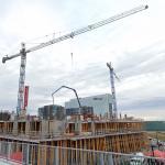 Nobel Condominiums under construction