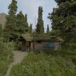 Richard Proenneke's wilderness cabin