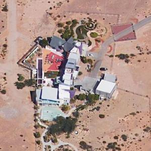 Penn Jillette's House (Google Maps)