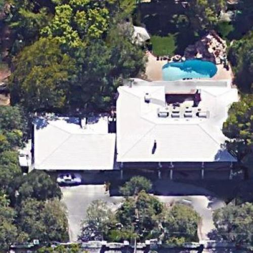 Jerry Lewis' House in Las Vegas, NV (Google Maps)