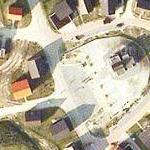 Fake town at Urban Warfare Training Centre (MOUT) (Google Maps)
