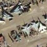 Aircraft boneyard at China Lake Naval Air Weapons Station