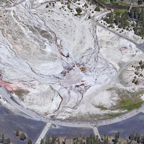 Old Faithful Geyser (Google Maps)