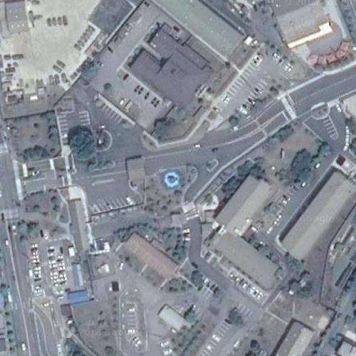 Camp Casey in Tongduchon, Republic of Korea (Google Maps)