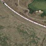 56-Car Train (Google Maps)