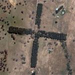Three's Cross (Google Maps)