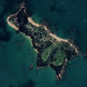 Most expensive private islands #2 (Google Maps)