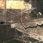 Bombed Airfield (practice?) (Google Maps)