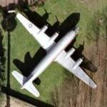 C-54 Skymaster on static display