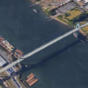 St. Johns Bridge (Google Maps)
