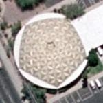 1962 gold geodesic dome (soon to be torn down) (Google Maps)