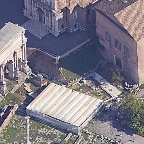 Julius Caesar's Murder Site (Google Maps)