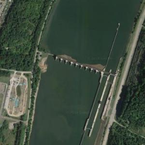 Pike Island Locks and Dam (Google Maps)