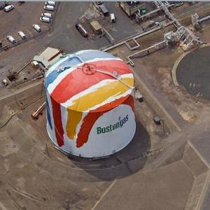 Painted Gas Tank (Google Maps)