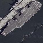 USS Abraham Lincoln (CVN-72) (Google Maps)