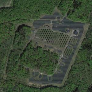 Ordnance area at Siegelsbach Army Depot (Google Maps)