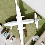 Folker F-27-200 Friendship on static display (Google Maps)