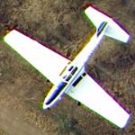 de Havilland Canada DHC-1 Chipmunk over Enfield (Google Maps)