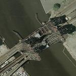 Newark lift bridge (Google Maps)