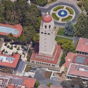 Hoover Tower (Google Maps)