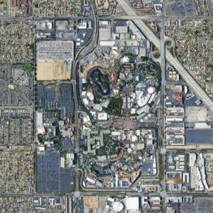 Disneyland (Google Maps)