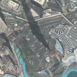 Burj Khalifa - Tallest building in the world (Google Maps)