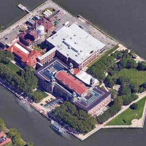 Ellis Island (Google Maps)