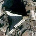 Ryugyong Hotel (tallest building in North Korea) (Google Maps)