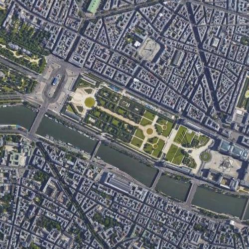 Jardin des Tuileries (Google Maps)