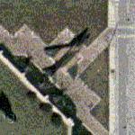 F-4 Phantom on static display (Google Maps)