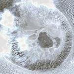 Barcena volcano (Google Maps)