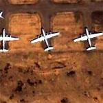 KC-97s at South Big Horn County Airport (Google Maps)