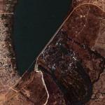 Matala Dam at Cunene Rivver (Google Maps)