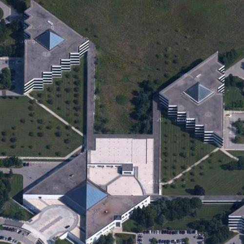 'IBM Global Services' by I.M. Pei (Google Maps)