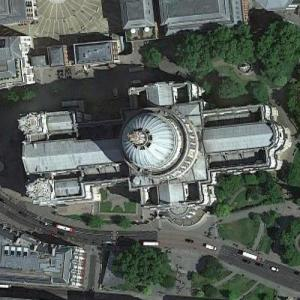 Saint Paul's Cathedral (Google Maps)