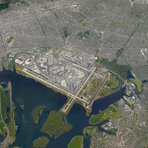 John F. Kennedy International Airport (JFK) (Google Maps)