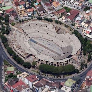 Amphitheatre of Puteoli (Google Maps)