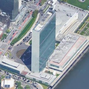 United Nations Headquarters Building (Google Maps)