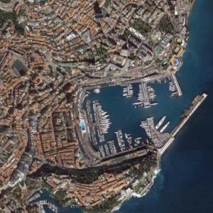 Monte Carlo (Google Maps)