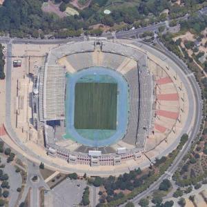 Estadi Olímpic Lluís Companys (Google Maps)