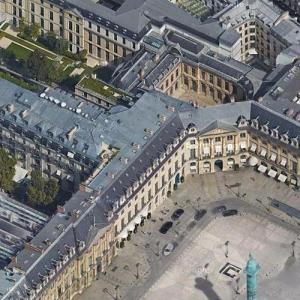 Hôtel Ritz Paris (Google Maps)
