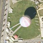 Hot Air Balloon in Berlin (Google Maps)
