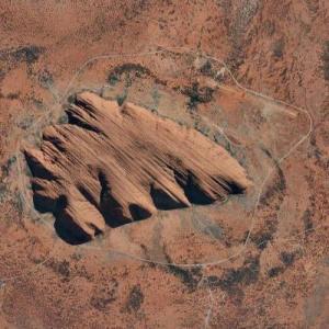Uluru / Ayers Rock (Google Maps)