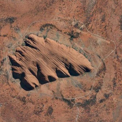 Uluru / Ayers Rock (Google Maps)